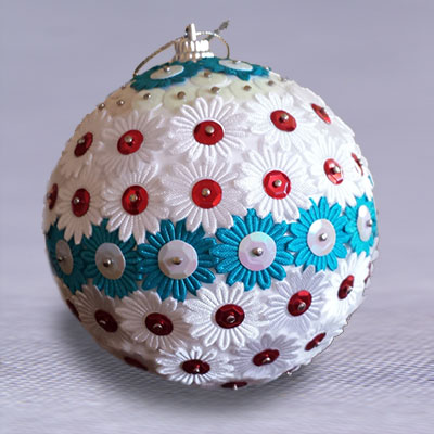 bombki do decoupage